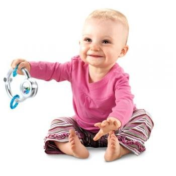 Fisher-Price Baby's First Silver Loop Teether (Discontinued by Manufacturer) (Discontinued by Manufacturer)