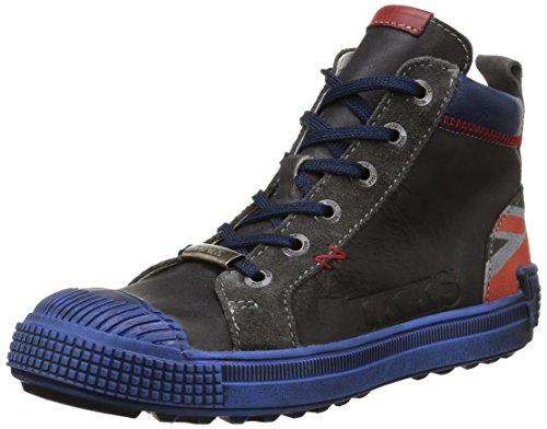 Ikks - Christopher, Sneakers per bambini e ragazzi, Multicolore (Multicolore (Vtc Noir/Rouge Dpf/Terrore)), 32