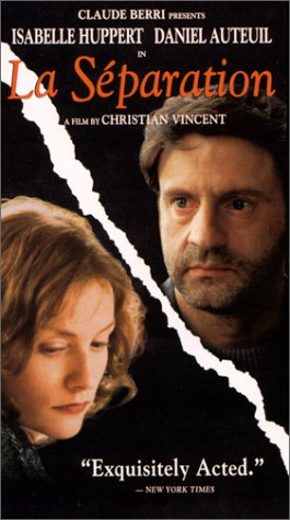 La Separation [VHS] [Import]