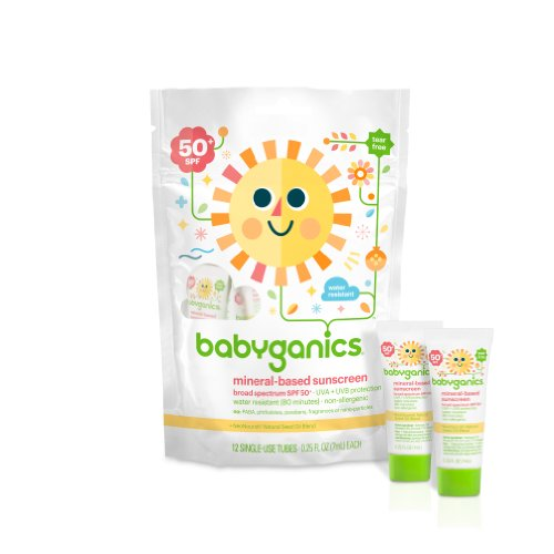 Babyganics Mineral Based Sunscreen Spf 50 12 Count Of