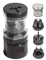 Callmate World Power Travel Adapter (Black)