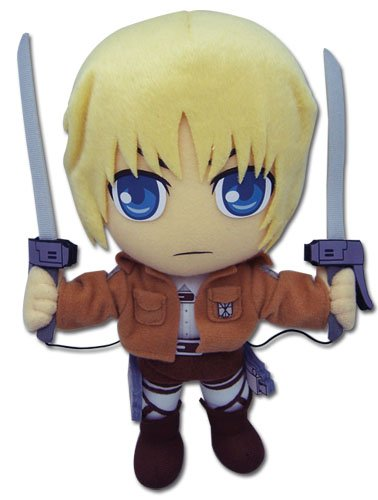 Great Eastern Attack on Titan 9″ Armin Arlert Plush image