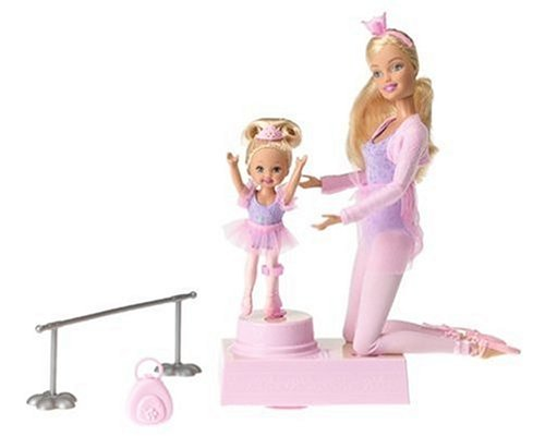 Best cheap barbie and kelly ballerina dolls cheap toy sale - Barbie ballerine ...