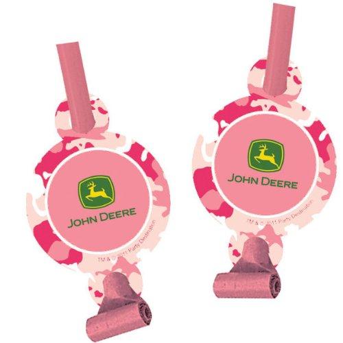 John Deere Pink Blowouts (8ct) - 1