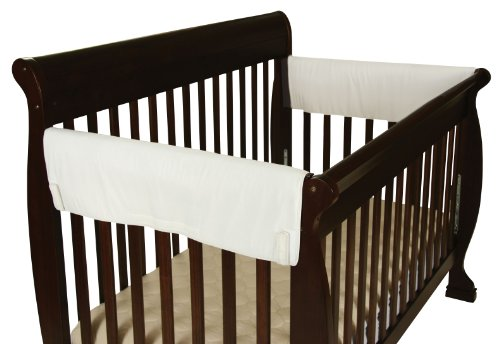 Leachco Easy Teether XL Side Crib Rail Cover, White