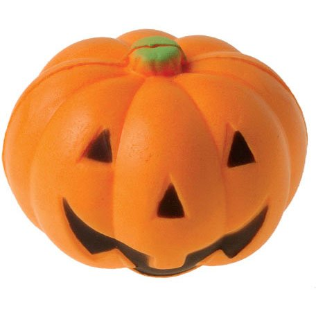 Pumpkin Stress Ball - 2 inch