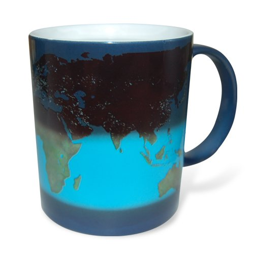 Thumbs Up! Day And Night Heat Sensitive Mug
