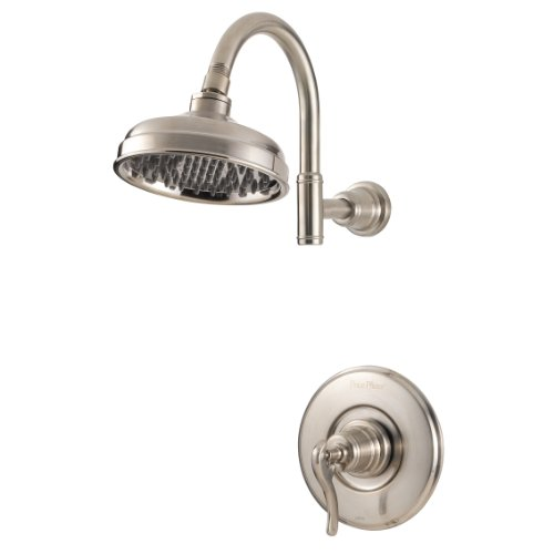 Discover Bargain Pfister Ashfield 1-Handle Shower Only Trim, Brushed Nickel