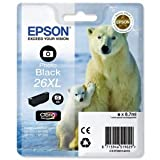 Epson 26XL - Print cartridge - XL size - 1 x photo black - 400 pages - for Expression Premium XP- 710, XP-510, XP-600, XP-605, XP-610, XP-615, XP-700, XP-800, XP-810
