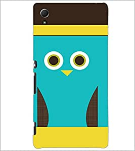 PrintDhaba Cartoon D-3530 Back Case Cover for SONY XPERIA Z4 (Multi-Coloured)
