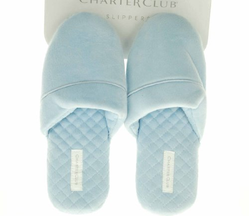 Cheap Charter Club Closed Toe Solid Slippers (B004WOI0EI)