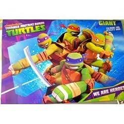 Teenage Mutant Ninja Turtles Giant Coloring and Activity Book 10x15