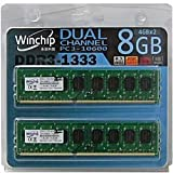 WVD31333C9U-4GX2 メモリ 8GB (4GBx2) DDR3-1333(PC10600) 240pin Winchip