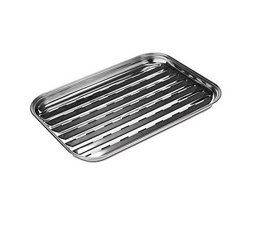 Living Edelstahl Grillschale, 500 g, Aluminium