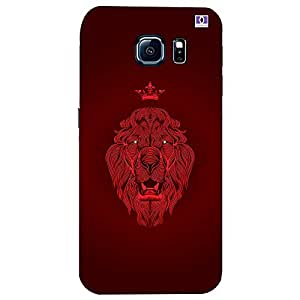 Red Lion - Mobile Back Case Cover For Samsung Galaxy S6 Edge Plus