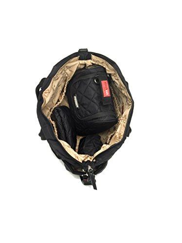 Storksak Bobby Quilted Tote Bag, Black