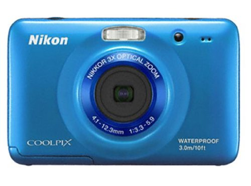 Nikon COOLPIX S30 Waterproof Compact Digital