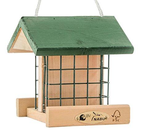 cj wildlife 350540415 wildvogel futterhaus pasadena aus fsc holz empfohlen vom nabu und dem lbv. Black Bedroom Furniture Sets. Home Design Ideas