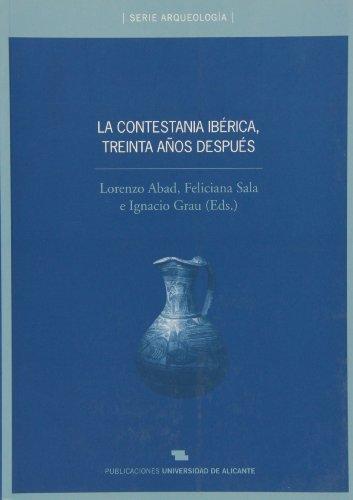 La Contestania Ibérica, treinta años después