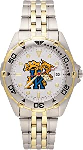 Kentucky Wildcats Mens All Star Watch Stainless Steel Bracelet by Logo Art