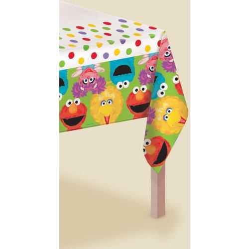 Amscan - Sesame Street 1st Plastic Tablecover - Standard