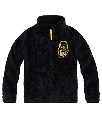 Star Wars-The Clone Wars Darth Vader Jedi Yoda Ragazzi Giacca in pile, Coral - nero - 134
