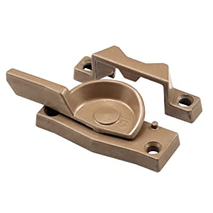 Prime-Line Products F 2663 Cam Type Window Sash Lock with Heavy Duty Diecast, Coppertone