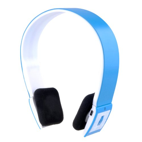Wireless Bluetooth V3.0+Edr Stereo Universal Headset Headphone For Mobile Cellphone Laptop Pc Tablet (Blue)