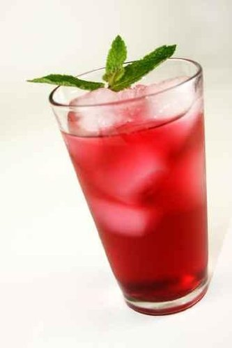 Refreshing Red Cocktail Beverage - 60