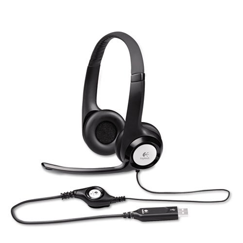 Logitech® - Clearchat Comfort Usb Headset W/Noise-Canceling Microphone - Sold As 1 Each - High-Quality, Integrated Drivers.