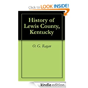 History of Lewis County, Kentucky O G Ragan