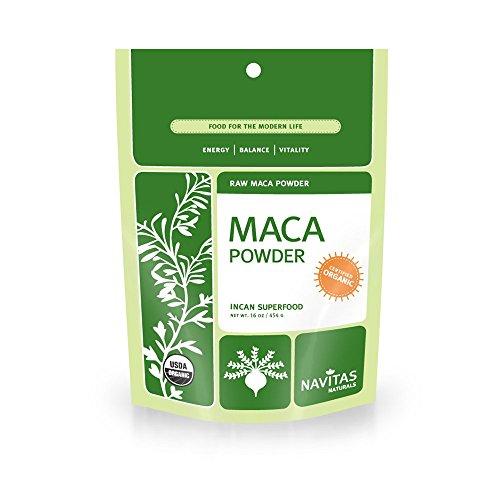 Navitas Naturals Organic Raw Maca Powder,  1 Pound  Pouches