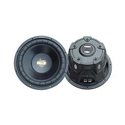 Lanzar Maxp104d 10 1200w Car Audio Subwoofer Sub 1200 Watt