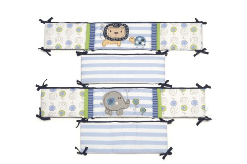 Kids Line All Around Bumper, Jungle Doodle front-1077326