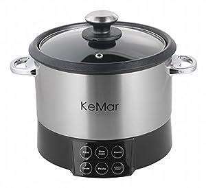 Kemar kmc 218 ottima macchina per cucinare multifunzione con inserto per mescolare per la pasta - Macchina per cucinare ...