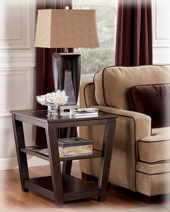Image of Caron Square End Table by Ashley Furniture (T472-2)