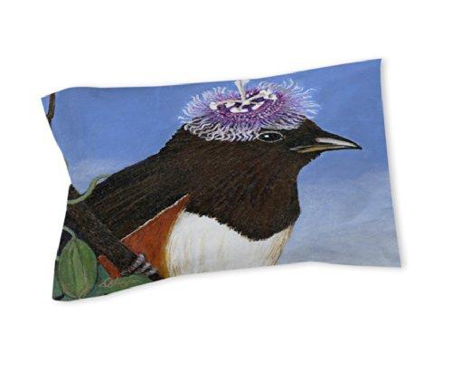 Thumbprintz Pillow Sham, King, You Silly Bird Donna front-473516