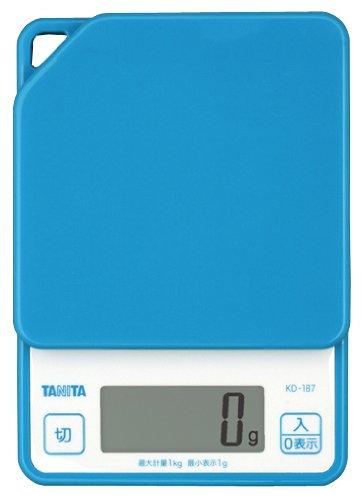 ?chelle de cuisson num?rique Tanita Bleu KD187-BL (japon importation)