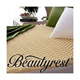 Beautyrest Convoluted Foam Mattress Topper - Size Queen