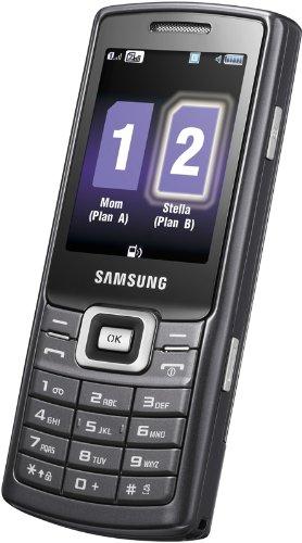 Dual Sim GT-C5212 - noir (Double SIM)  Menus internes en allemand, anglais, espagnol, français, i...