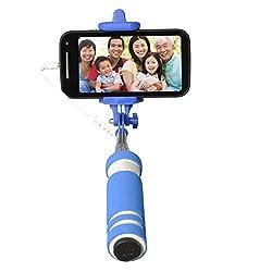 Gaffar Mobile Foldable Mini Monopod Pocket Selfie Stick for Iphones, Samsung, Panasonic P81, Lenovo A7000, Moto G 2nd Generations.