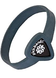 Pickbandz Bracelet Timberwolf Grey Medium/Large - Guitar Pick Holder Bracelet