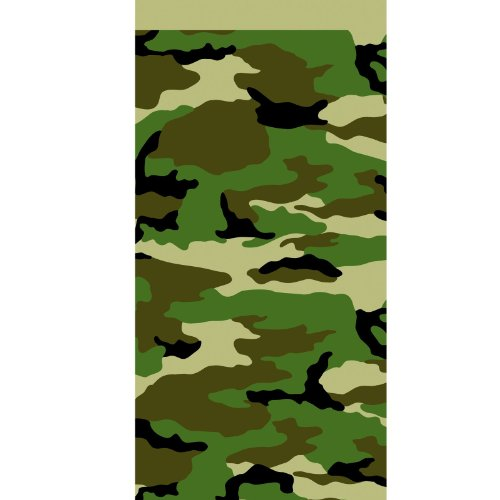 Camo Plastic Tablecover by American Greetings