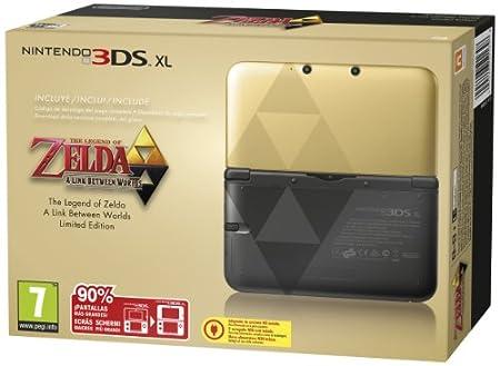 Nintendo 3ds Xl + Zelda - a Link Between Worlds [Importación italiana]