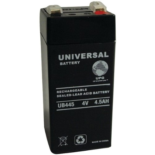 UPG UB445 Sealed Lead Acid 4V AGM Battery 40559 (4 Volt Sealed Lead Acid Battery compare prices)