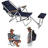 WearEver Deluxe Backpack Lounger / Chair with Large Storage Pocket