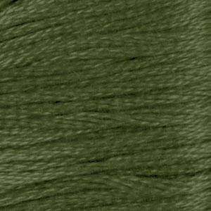 DMC (936) Six Strand Embroidery Cotton 8.7 Yard V Dk. Avocado Green By The Each