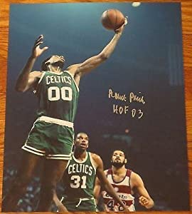 Robert Parish Signed 11x14 Photo Boston Celtics The Chief Auto Hof Exact Proof A -... by Sports Memorabilia