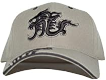 Khaki Dragon Hat - Adjustable