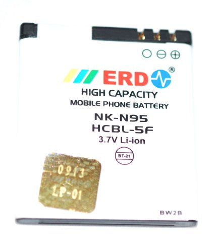 ERD 910mAh Battery (For Nokia N95)